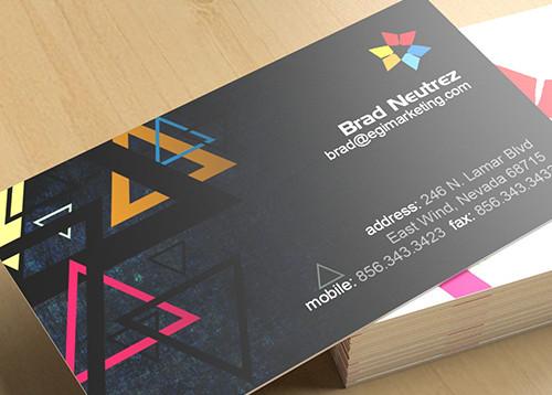 Business Cards Vm Technologies